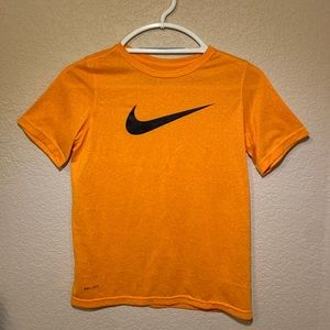 Orange Nike Dri-Fit T-Shirt